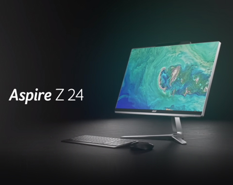 Acer | Aspire Z 24 All-in-One Desktop